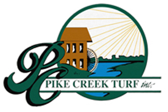 Pike Creek Turf, Inc. Retina Logo