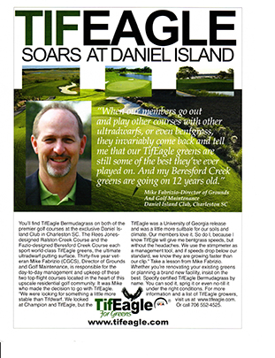 TifEagle at Daniel Island